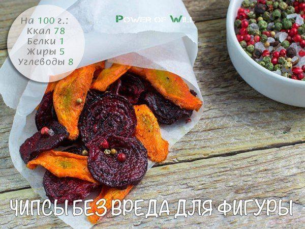 Овощные чипсы / Медицина для всех
