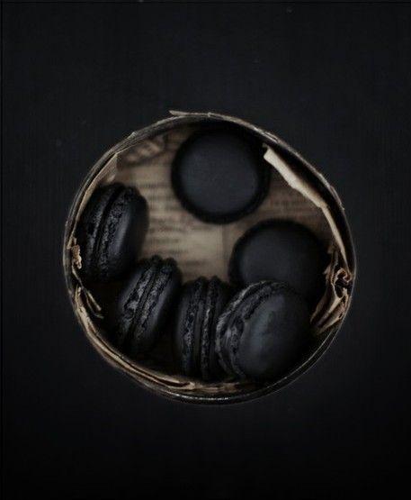 BLACK macaroons?