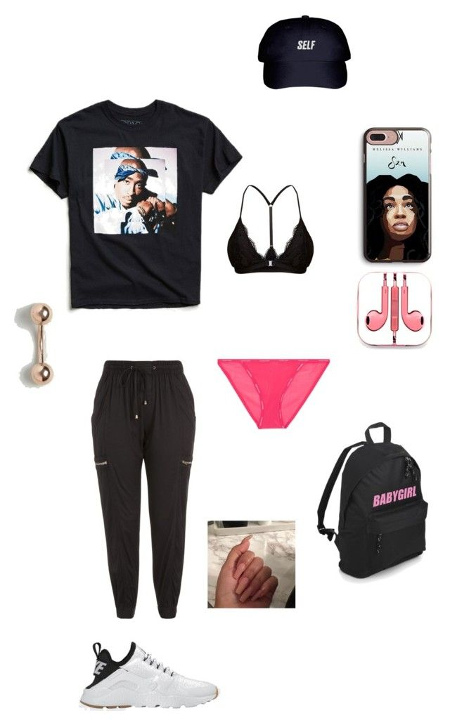 """Keeping it casual with Tupac"" by groovegoddess18 on Polyvore featuring Urban Outfitters, Calvin Klein Underwear, City Chic, ASOS, PhunkeeTree, NIKE, justhavingfun and plus size clothing"