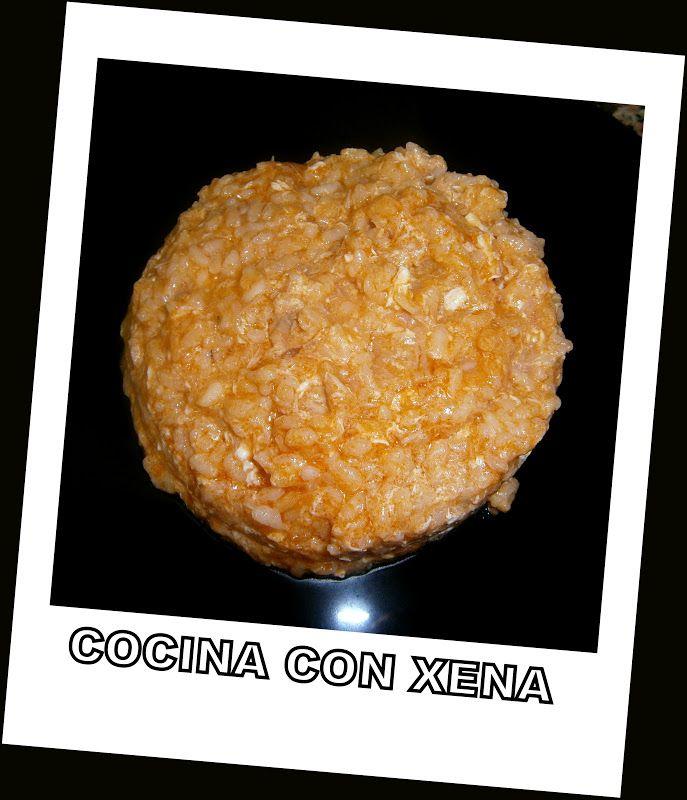 Cocina con xena arroz blanco con at n y huevo en - Comidas con arroz blanco ...