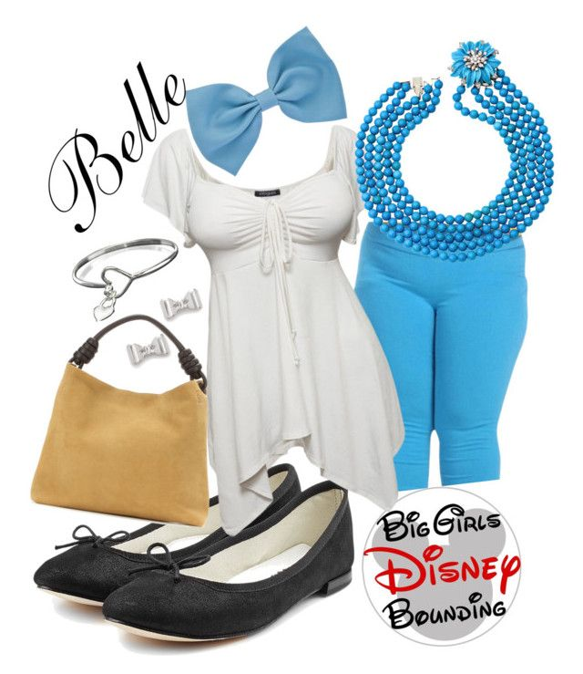 """Belle Plus Size Disney Bounding"" by bgdisneybound on Polyvore featuring Repetto, Loewe and Marc by Marc Jacobs"
