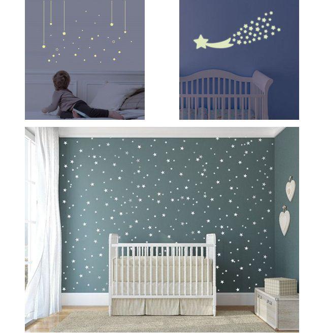 deco chambre bebe theme etoile visuel