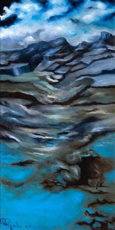 "Saatchi Art Artist Giuseppe Alberto Regoli; Painting, ""Tra cielo e terra"" #art"