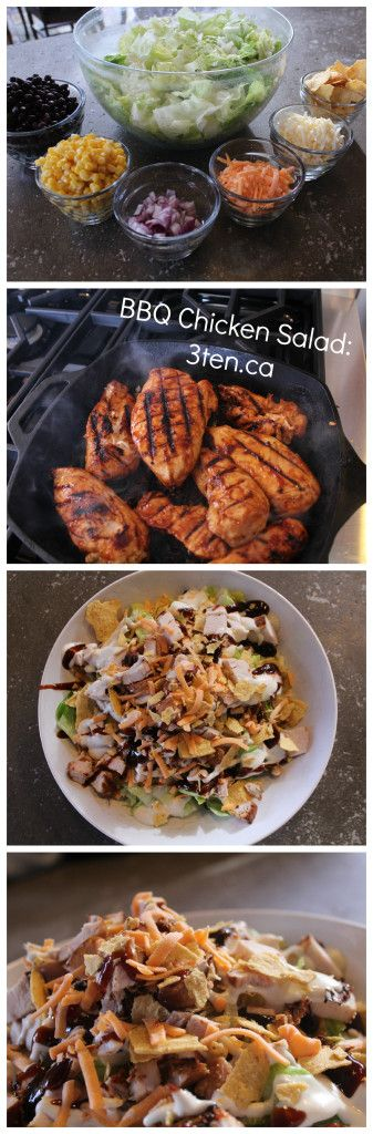 Recipe: BBQ Chicken Salad