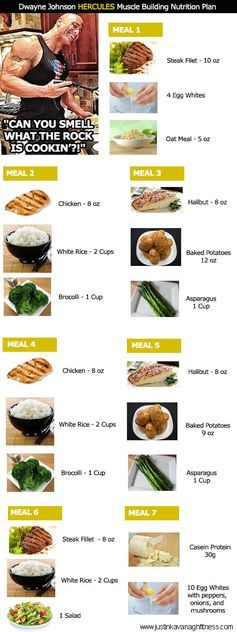 Dwayne Johnson Hercules #Diet Plan