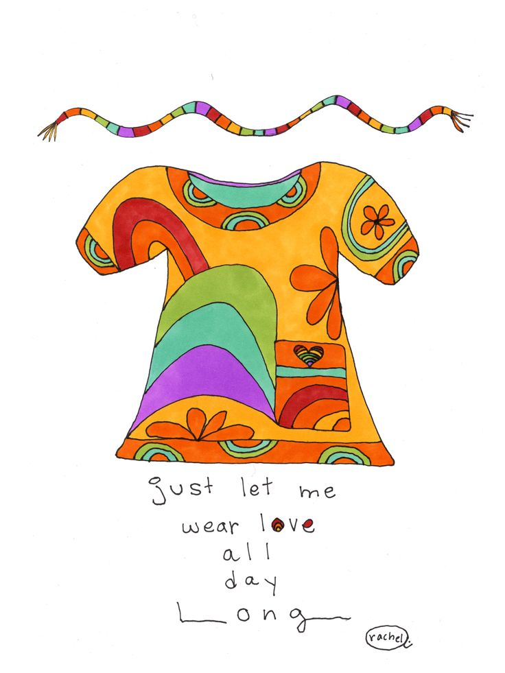 Just let me wear love all day long. http://rachelawes.etsy.com
