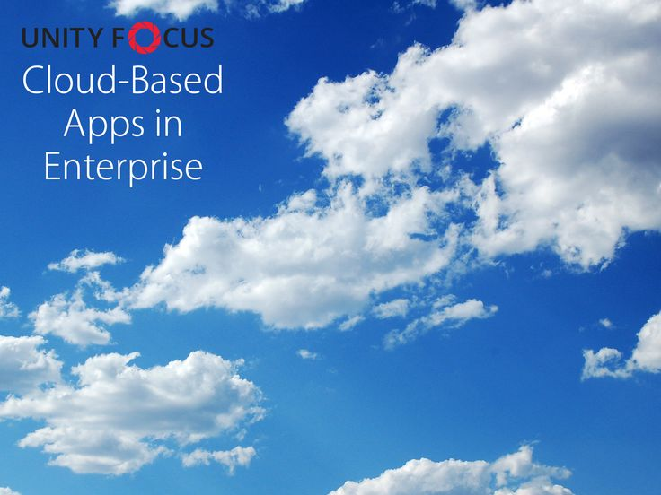 Cloud-Based Apps in Enterprise is Growing  Recently, Box, the cloud-storage service targeted towards enterprise users, went IPO. Box's IPO shows the growing important of cloud-based apps in enterprise. Box is a standalone enterprise cloud solution, and its IPO means that the market is large enough to sustain itself. Microsoft, Amazon and Google have enterprise solutions as well, but it is not their only focus of business.