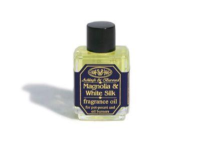 Απολαύστε πολυτέλεια και χαλάρωση με το όμορφο άρωμα Magnolia & White Silk της Ashleigh & Burwood. Συνδυάζοντας πλούσια λουλούδια μανόλιας με ψιλές λευκές ίνες μετάξι, αυτό το αρωματικό λαδάκι γεμίζει το σπίτι σας με στυλ και ηρεμία.