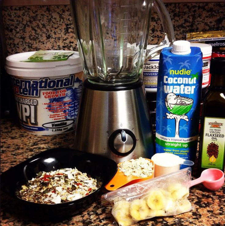Post Workout Breakfast Shake