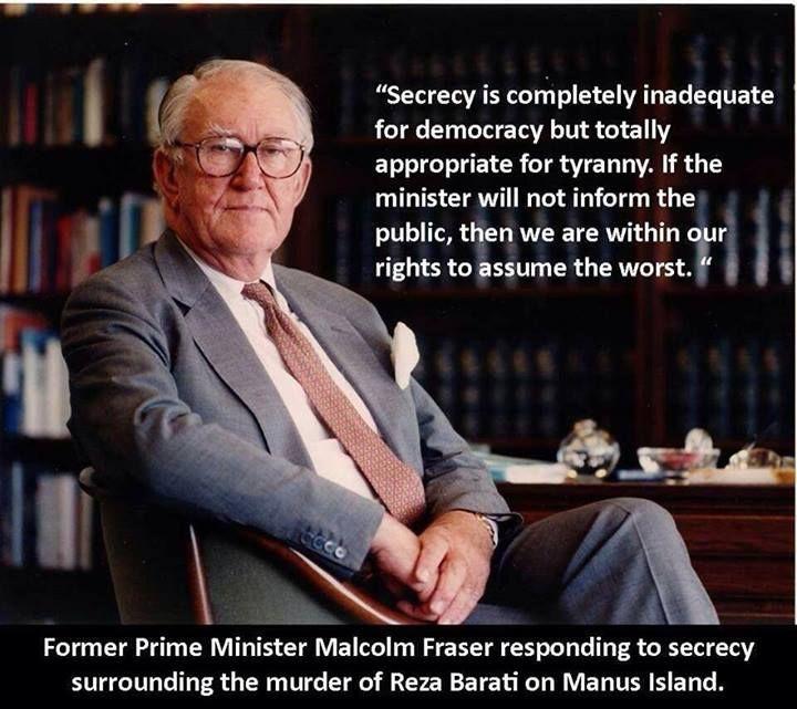 Manus Island and democracy