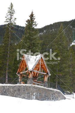Sulphur Mountain - Banff Royalty Free Stock Photo