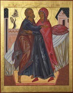 Saints Joachim and Ann, Patrons of Generosity to Life