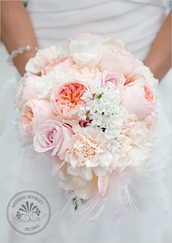 Soft Peach Wedding Bouquet Keywords: #weddings #jevelweddingplanning Follow Us: www.jevelweddingplanning.com  www.facebook.com/jevelweddingplanning/