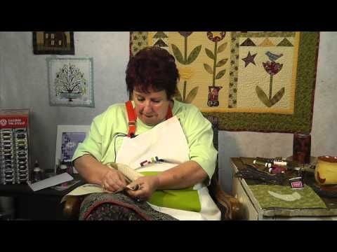 How to Applique Points with Jan Patek - YouTube