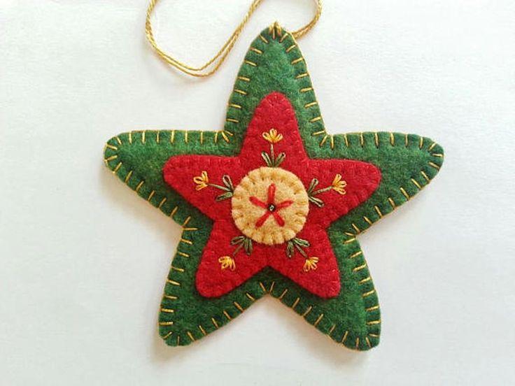 38 Original Felt Ornaments Decoration Ideas For Your Christmas Tree 14