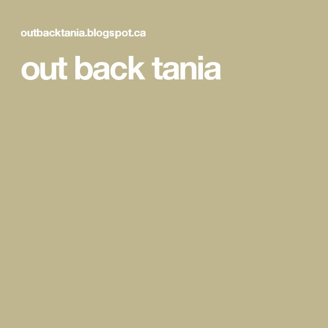 out back tania