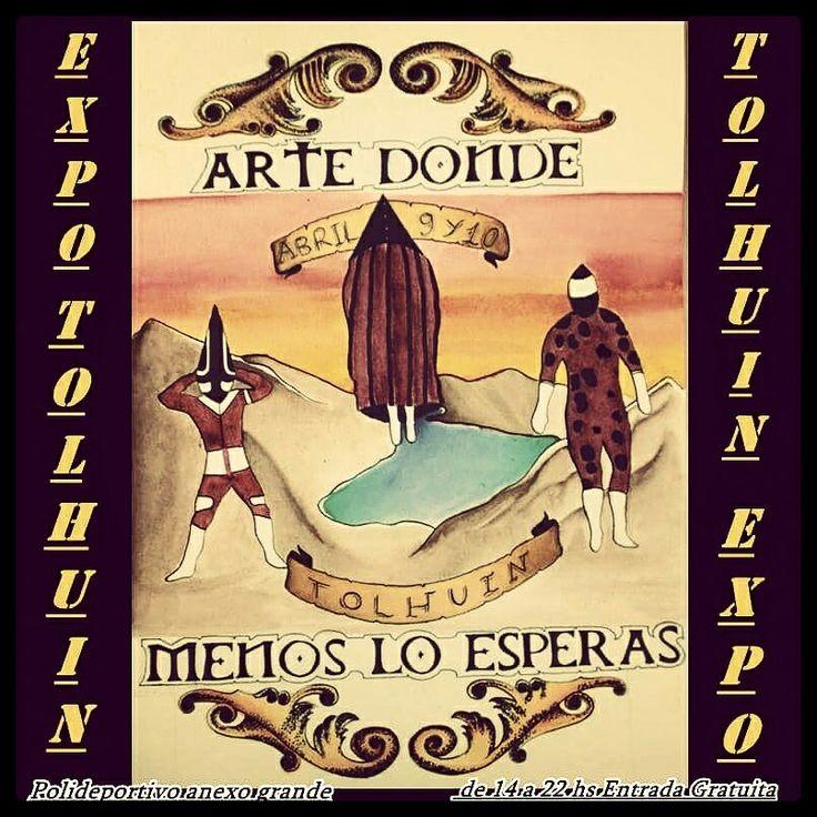 Arte Donde Menos Lo Esperas  TOLHUIN...sábado 9 y domingo 10 de ABRIL....de 14hs en adelante ........... anexo del polideportivo ................ Una buenísima fecha para disfrutar EN FAMILIA de nuestra ciudad vecina con buena música EN VIVO y muchísimos TATUAJES & PIERCINGS por los artistas mas populares de Tierra del Fuego - Fin del Mundo. .........ENTRADA GRATUITA...! cortesia del municipio de Tolhuin & AURA TATUAJES