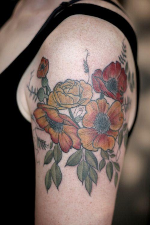 tatuagem de anêmonas 4