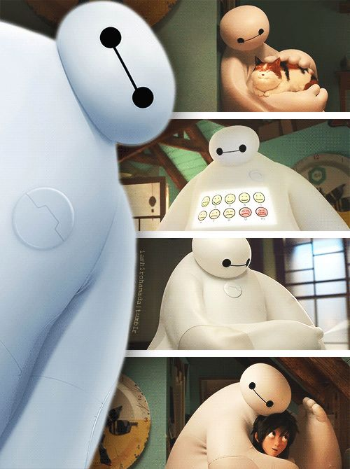 I wish that someone would actually make a baymax. He could be helpful for those in hospitals or mental hospitals and he won't stop helping unless the person says I am satisfied with my care.