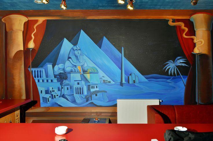 Painted wall 1! (3meters high)