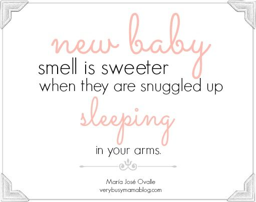 Sleeping baby quotes sure to make you broody. See more >> http://verybusymamablog.com/2016/03/motherhood-sleeping-baby-quotes-gender-reveal.html