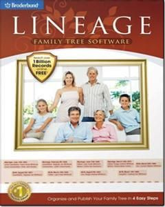 Lineage Family Tree Software for Windows-190535
