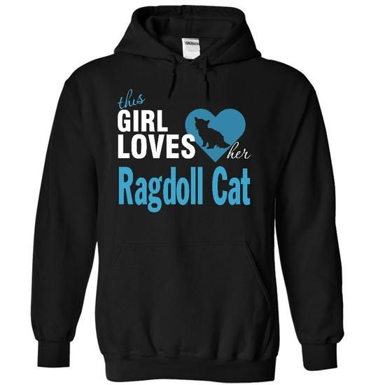 Ragdoll Cat T Shirts, Hoodies, Sweatshirts. CHECK PRICE ==► https://www.sunfrog.com/Pets/Ragdoll-Cat-4304-Black-16016410-Hoodie.html?41382