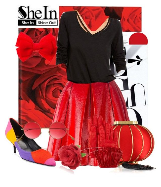 """shein"" by ultimate-j4u ❤ liked on Polyvore featuring iCanvas, Marc Jacobs, Roger Vivier, Charlotte Olympia, Diane Von Furstenberg, Cutler and Gross, Chicnova Fashion and claire's"