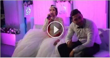 العروس بتغني والعريس عقله بمكان تاني