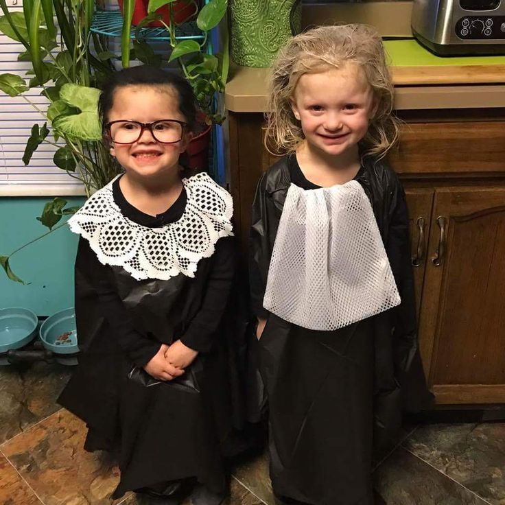 "Real Superheroes. It's ""Superhero Day"" at school! Why be Batgirl or Supergirl when we can be real heroes Ruth Bader Ginsburg and Sandra Day O'Connor!! http://ift.tt/2mrG9NM"