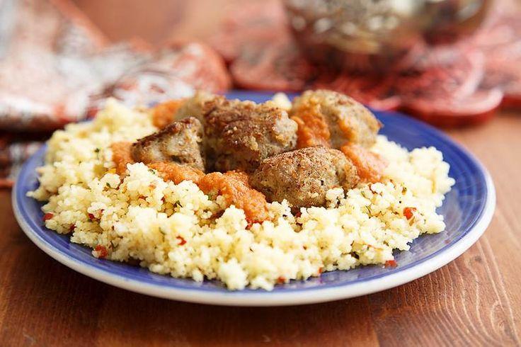 Курка з кускусом в духовці (20 фото приготування)  #курица #ужин #кулинария #рецепты