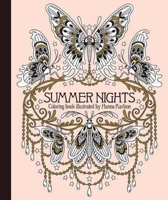 Summer Nights Coloring Book Originally Published In Sweden As