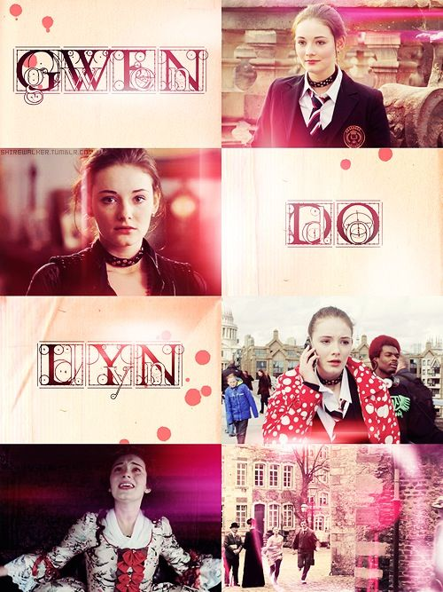 Gwendolyn Shepherd/ Ruby / Raven / Projectio/ Circle of the twelve