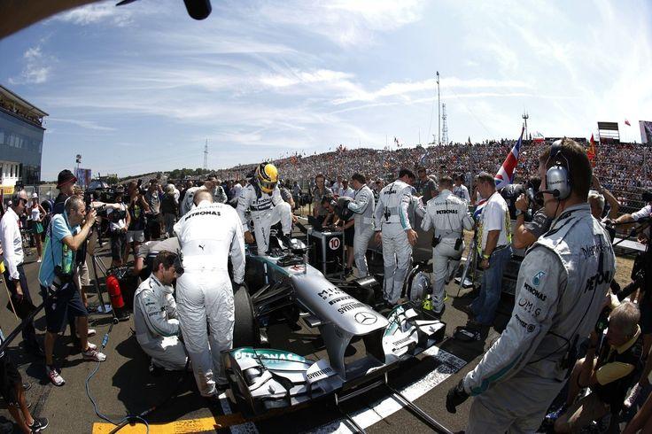 Formel 1 - MERCEDES AMG PETRONAS, Großer Preis von Ungarn, Budapest. 26.-28.07.2013. Lewis Hamilton