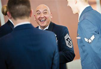 Inspiring Military Stores: Meet Chief Master Sgt. Jose Barraza // Read how this airman changed his life from Los Angeles gang member to becoming Air Force command chief!