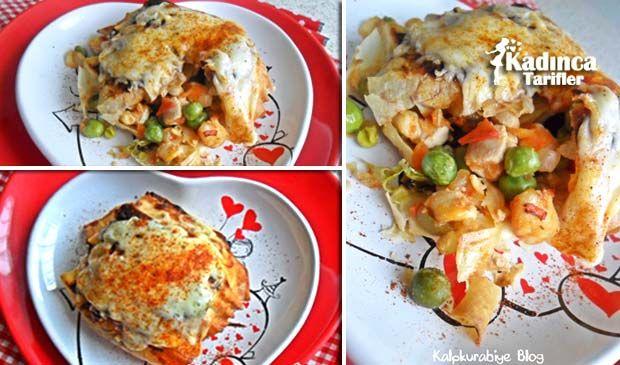 Tavuklu Sultan Kebabı Tarifi nasıl yapılır? Tavuklu Sultan Kebabı Tarifi'nin malzemeleri, resimli anlatımı ve yapılışı için tıklayın. Yazar: Kalpkurabiye