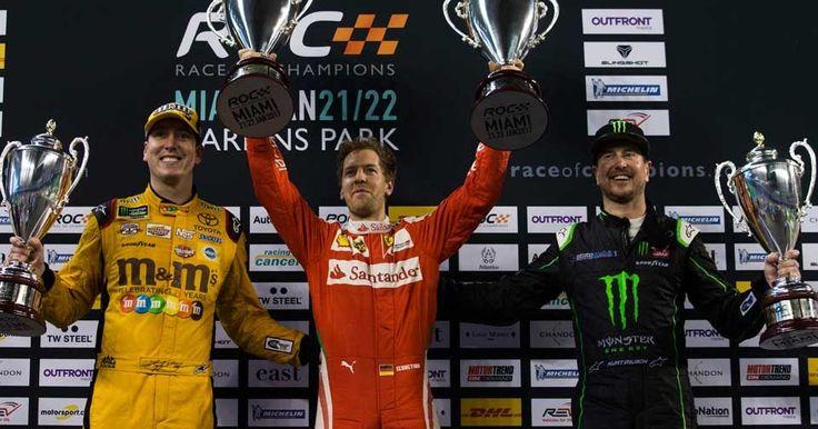 Sebastian Vettel Single-Handedly Won The 2017 ROC Nations Cup #Florida #Motorsport