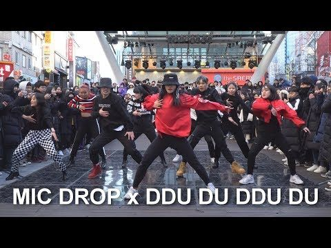 동성로 버스킹」'MIC DROP x DDU DU DDU DU' Mashup Dance Cover