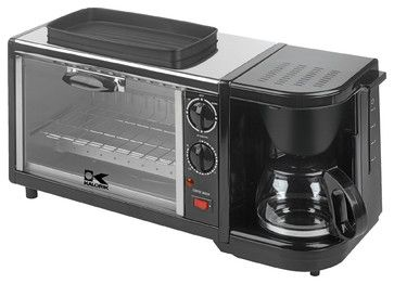 3-in-1 Breakfast Station contemporary-toaster-ovens