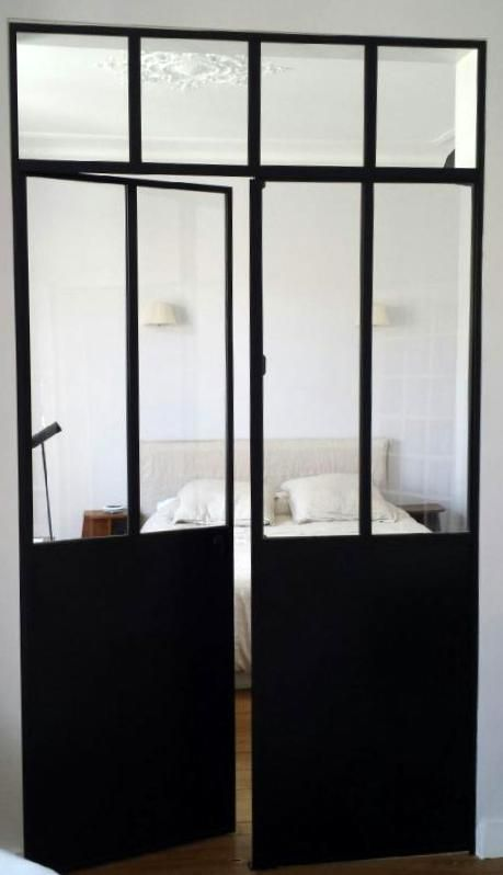 les 25 meilleures id es concernant baie vitr e galandage. Black Bedroom Furniture Sets. Home Design Ideas