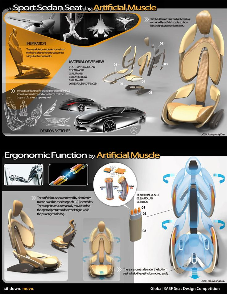 Seat Design Concept by Joonyoung Kim