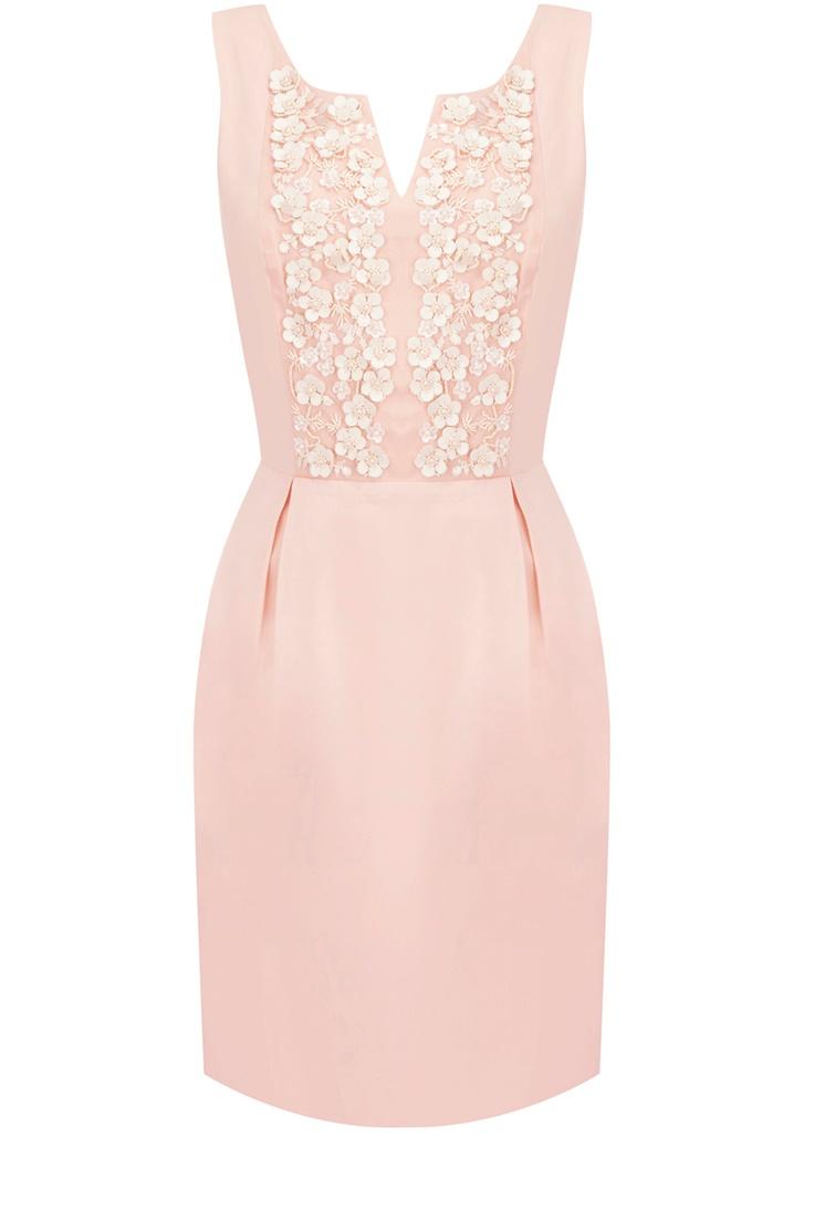 Oasis Shop | Off White Jasmyne Petal Dress | Womens Fashion Clothing | Oasis Stores UK