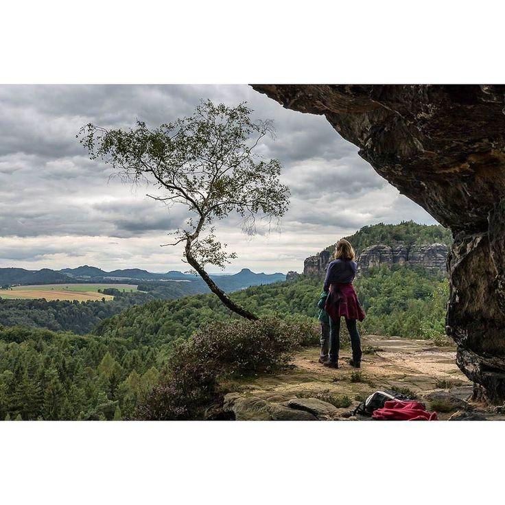 Warum es egal ist wie das Wetter ist... Natur erlebt man.  Einfach so. Gemeinsam. #Natur#Sächsische_Schweiz#Sachsen#sandstein#Felsen#Baum#nature#Landschaft#paesaggio#Nationalpark#saxony#sandstone#rocks#nature#natura#naturelovers#landscape#landscape_lovers#tree#albero#Wolken#clouds#nuvola#ig_europe#ig_germany#ig_deutschland#canon_photos#sogehtsaechsisch #elbi Credits:@_only_moments_