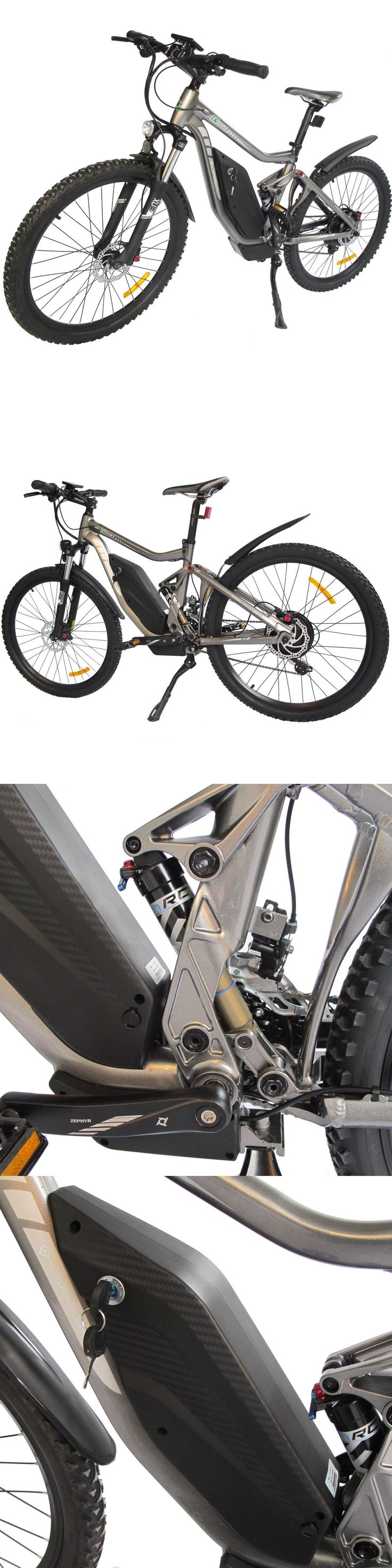 Electric Bicycles 74469: New Gray 26 Mountain Electric Bicycle 48V 10Ah Rear 500W Ebike 23Mph Lithium -> BUY IT NOW ONLY: $1299 on eBay!