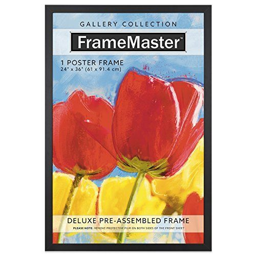 FrameMaster 24x36 Poster Frame, Wood Composite, Gallery E