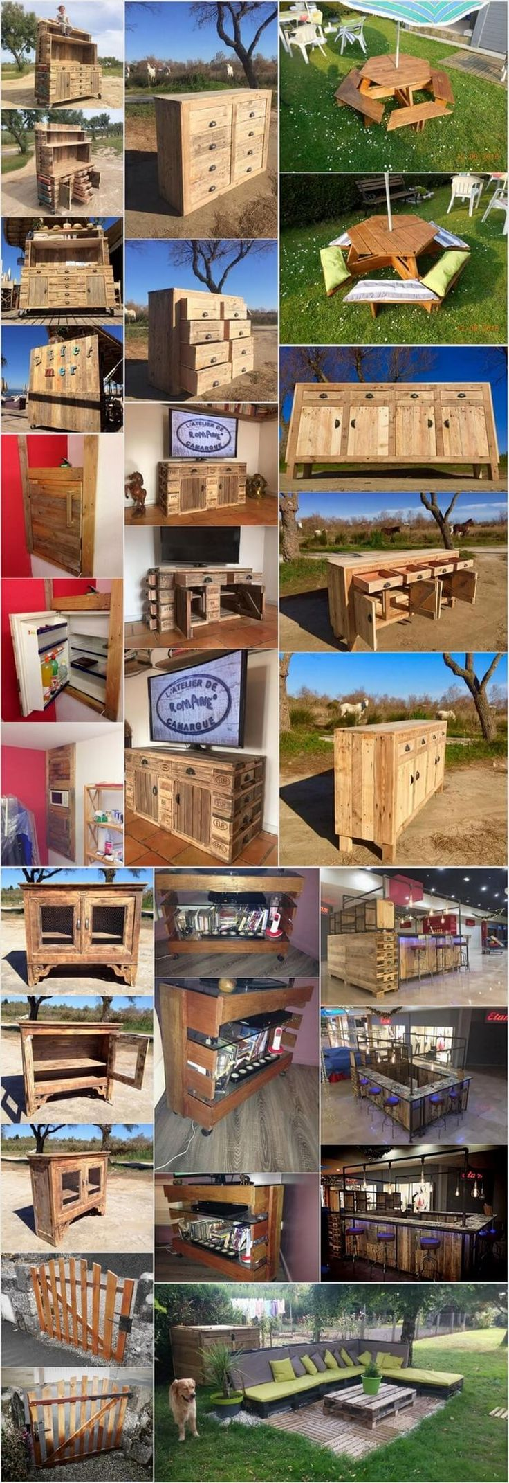 5070 best Pallet ideas images on Pinterest | DIY, Chairs and Color ...