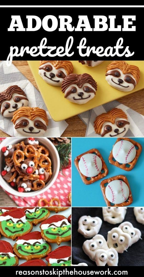 Pretzel Treats for all holidays!  They're simple to make and oh, so cute!