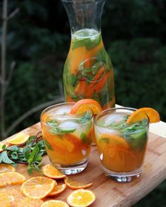 Tangerine or mandarin mojito - Latin Cocktails - Laylita's Recipes