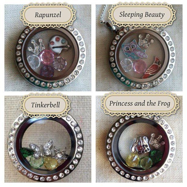 Origami Owl Living Lockets - Disney Princesses. If interested, contact Kim Watts at www.lifeisgood.origamiowl.com or if you'd like to personally speak with me, you can contact me at kim.watts4134@aol.com
