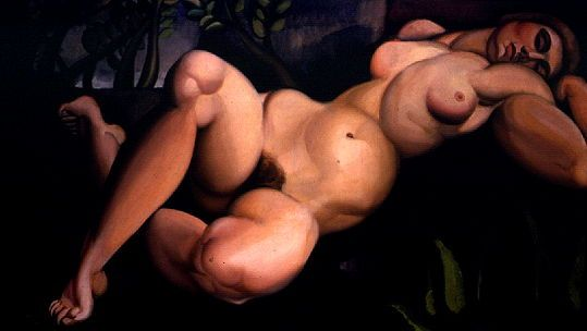 Тамара Лемпицка «Спящая девушка» (1923)